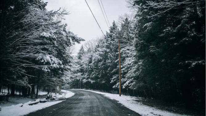 Prognoza pogody na dziś: lokalnie śnieg. Do 7 stopni