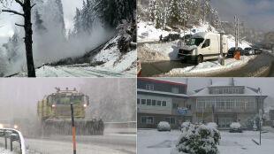 Atak zimy w kilku krajach Europy
