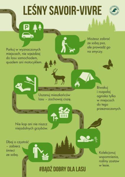 Instrukcja zachowania się w lesie (Lasy Państwowe)