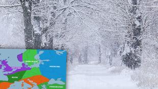 Amerykańscy synoptycy zapowiadają niespokojną zimę w Europie. Co czeka Polskę?
