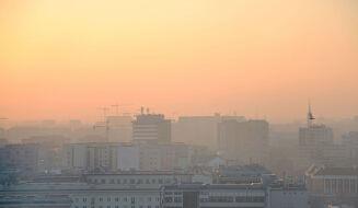 Poranek ze smogiem na południu