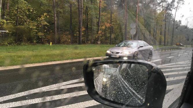 Warunki drogowe utrudnione
