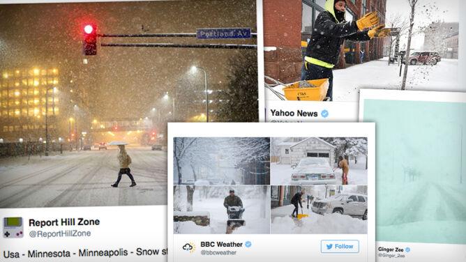 Rekordowe opady śniegu w USA