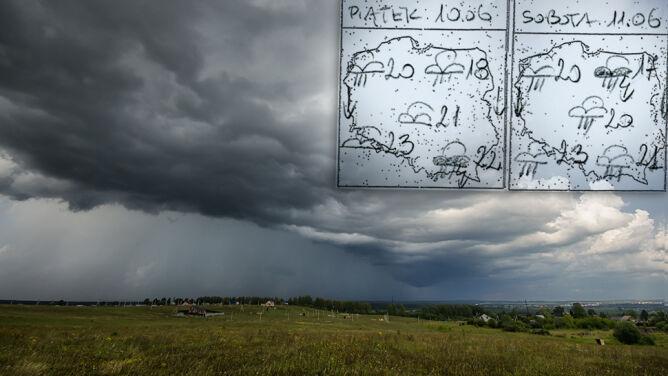 """Nadchodzi """"letni monsun"""". <br />W Polsce możliwe podtopienia"""