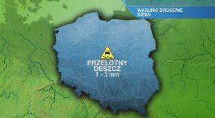 Warunki drogowe w piątek 23.04