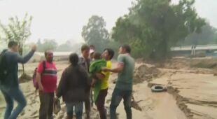 Lawina błotna w Kolumbii